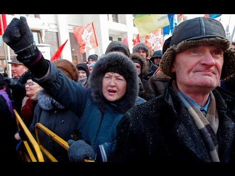 Кто не скачет, тот медведь! - в России реанимировали майдановскую кричалку на новый лад