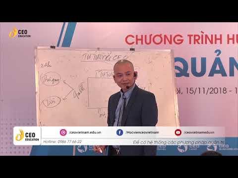 Tư Tưởng Của CEO Đối Với Bản Thân Mình - Cách Để CEO Hạnh Phúc Phần I | Học Viện CEO Việt Nam