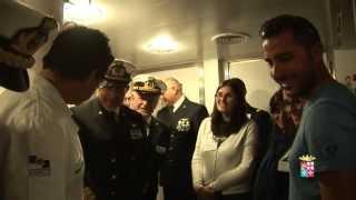 Marina Militare - Operation Smile e Nave Cavour per i sorrisi dei bambini