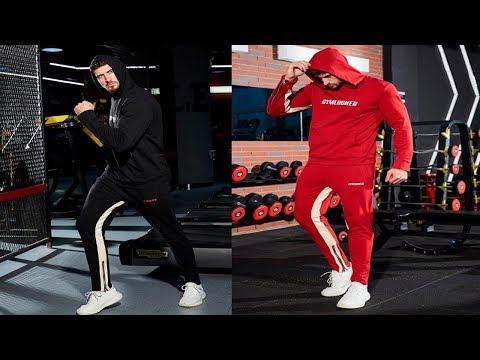 8 лучших мужских спортивных костюмов/best Men's Tracksuits с AliExpress