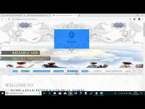 How To Create Website In Php Using Html Template