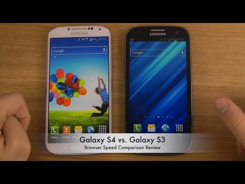 Galaxy S4 vs. Galaxy S3 - Browser Speed Comparison Review