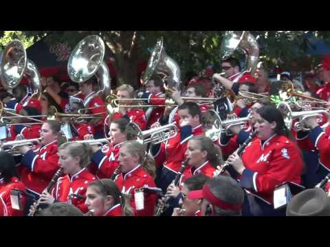 Ole Miss Band in The Grove