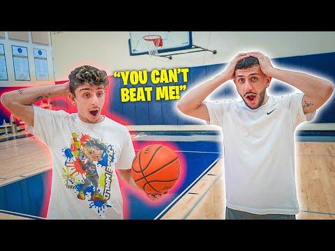 FaZe Rug vs Brawadis Basketball Challenge! **THIS WAS INTENSE**