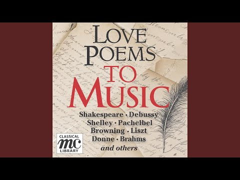 John Donne: The Ecstasy (with Brahms: Andante from the Clarinet Quintet, Op. 115)