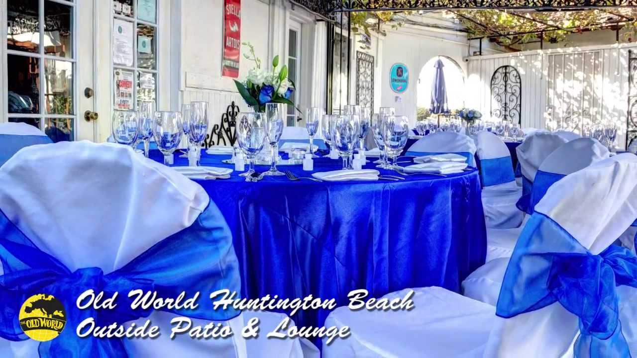 Outside Wedding Receptions Huntington Beach Orange County Youtube