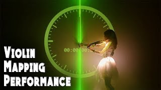 Projection Mapping Violin Performance