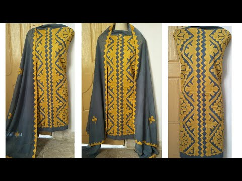Latest stylish dress designs for applique lovers applic