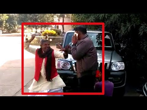 On cam: Local neta in Jharkhand assaults transport officer