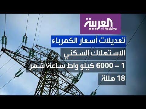 قائمة الأسعار الجديدة للكهرباء في السعودية  - نشر قبل 35 دقيقة