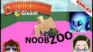 Roblox - Noob Zoo with Oliver! [Robux Giveaway]