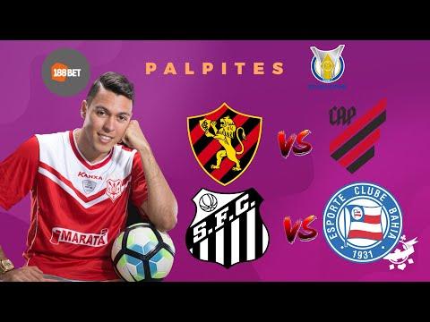Palpites De Futebol De Hoje 01 11 2020 Brasileirao Sport Vs Cap Santos Vs Bahia Youtube