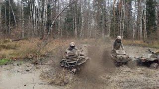 ПОЕЗДКА В БУТОВО ATV BRP YAMAHA POLARIS  KAWASAKI