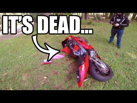 Crashing My Bike AFTER IT WAS SOLD...