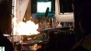 FRINGE : tournage de la fin de la saison 2 de la série, TIR