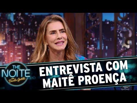 Entrevista com Maitê Proença | The Noite (24/10/17)