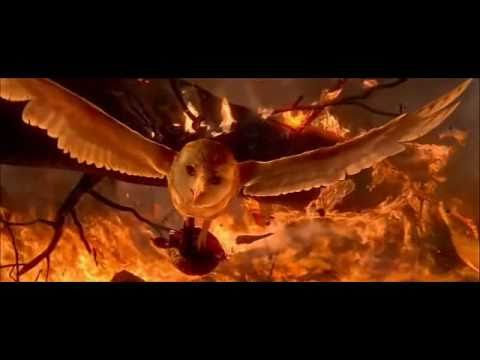 legend of the guardians: soren fire scene HD
