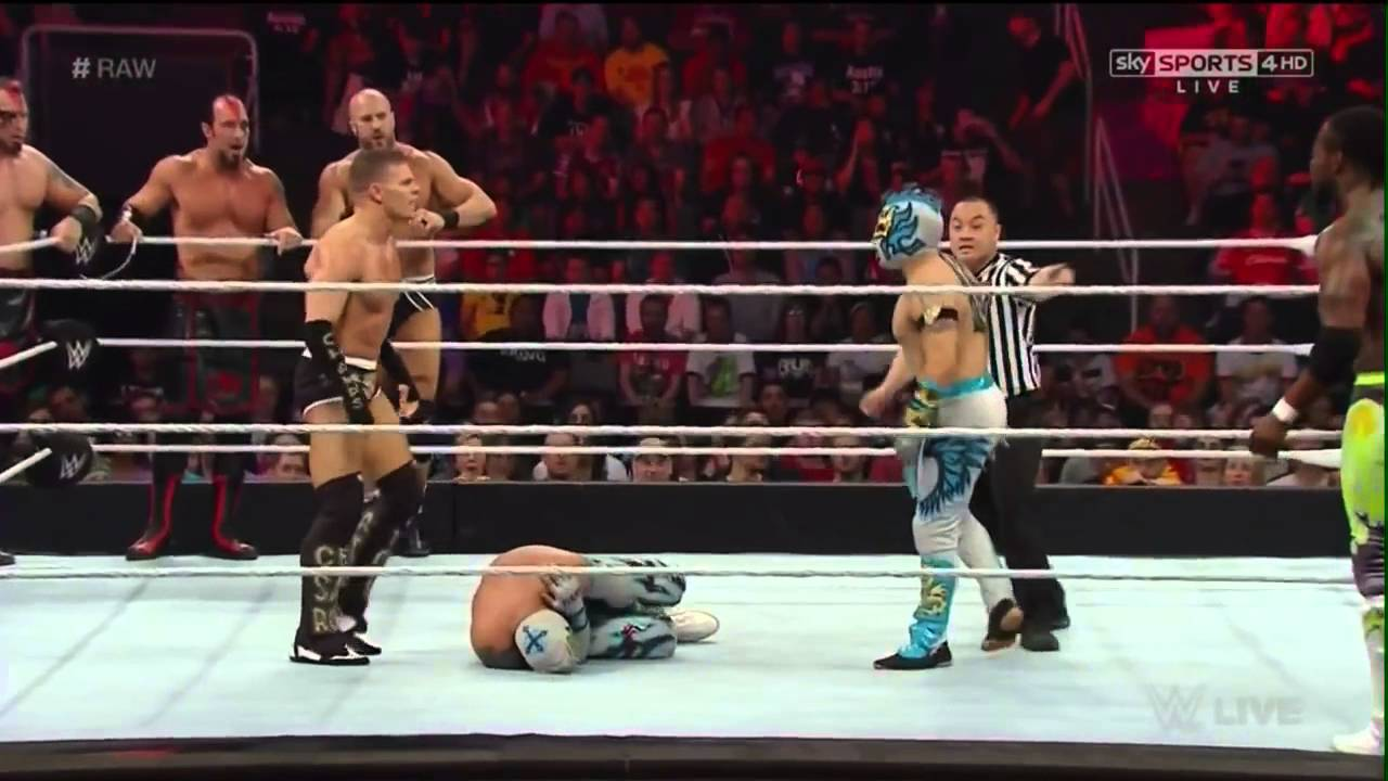 Download The Lucha Dragons & New Day vs Cesaro & Kidd ,The Ascension Raw, 2015 Full Maç hd