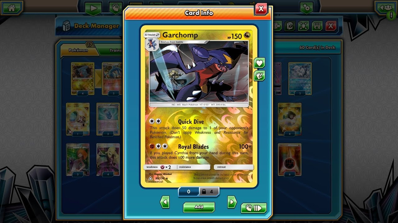 pokemon platinum how to get garchomp