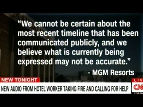 """Mandalay Bay Casino Say Las Vegas Police Shooting Timeline """"May Not Be Accurate""""!"""