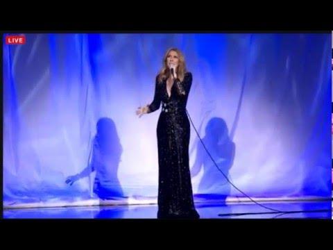 Celine Dion returns to Las Vegas after Death of Husband Rene