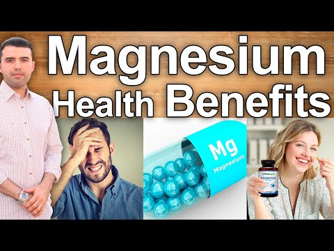 WHY MAGNESIUM IS GOOD FOR YOU AND WHICH ONE IS BEST - Magnesium Health Benefits And How Much To