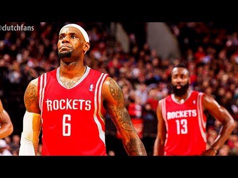 LeBron James Joining Houston Rockets? - A Bad Lip Reading of the NBA