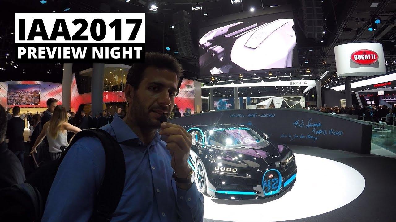 IAA 2017 – Preview Night – Audi, Bugatti, Porsche, SEAT, Skoda, VW