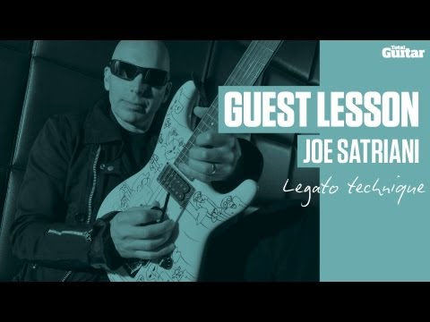 Joe Satriani Guest Lesson - Legato technique (TG235)