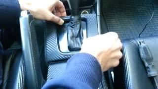 Honda Accord 7 Замена лампы подсветки режимов АКПП + Замена лампы подсветки корректора фар.