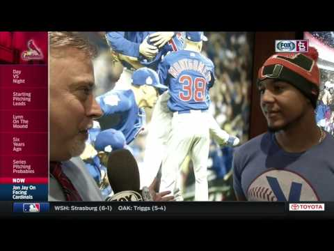 Jon Jay on being a Cub now