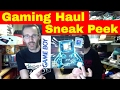 Sunday Live show - Video Game Haul Sneak Peek - How to sell on ebay