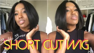 MOST Affordable Natural Looking Synthetic Wig Ever!!!! ft BOBBI BOSS and SAMS BEAUTY