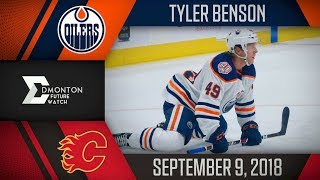 Tyler Benson | One Assist vs Calgary | Sep. 9, 2018