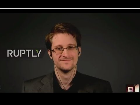 LIVE: PEN International hosts Q&A with Edward Snowden in Oslo