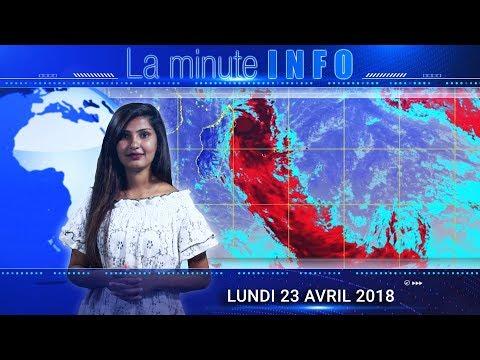 LaMinuteInfo: dépression tropicale Fakir, Maurice passe en alerte 1