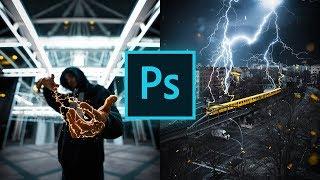 Epische Blitze/Elektrizität Effekte in Photoshop erstellen ⚡️ (Tutorial für Anfänger)