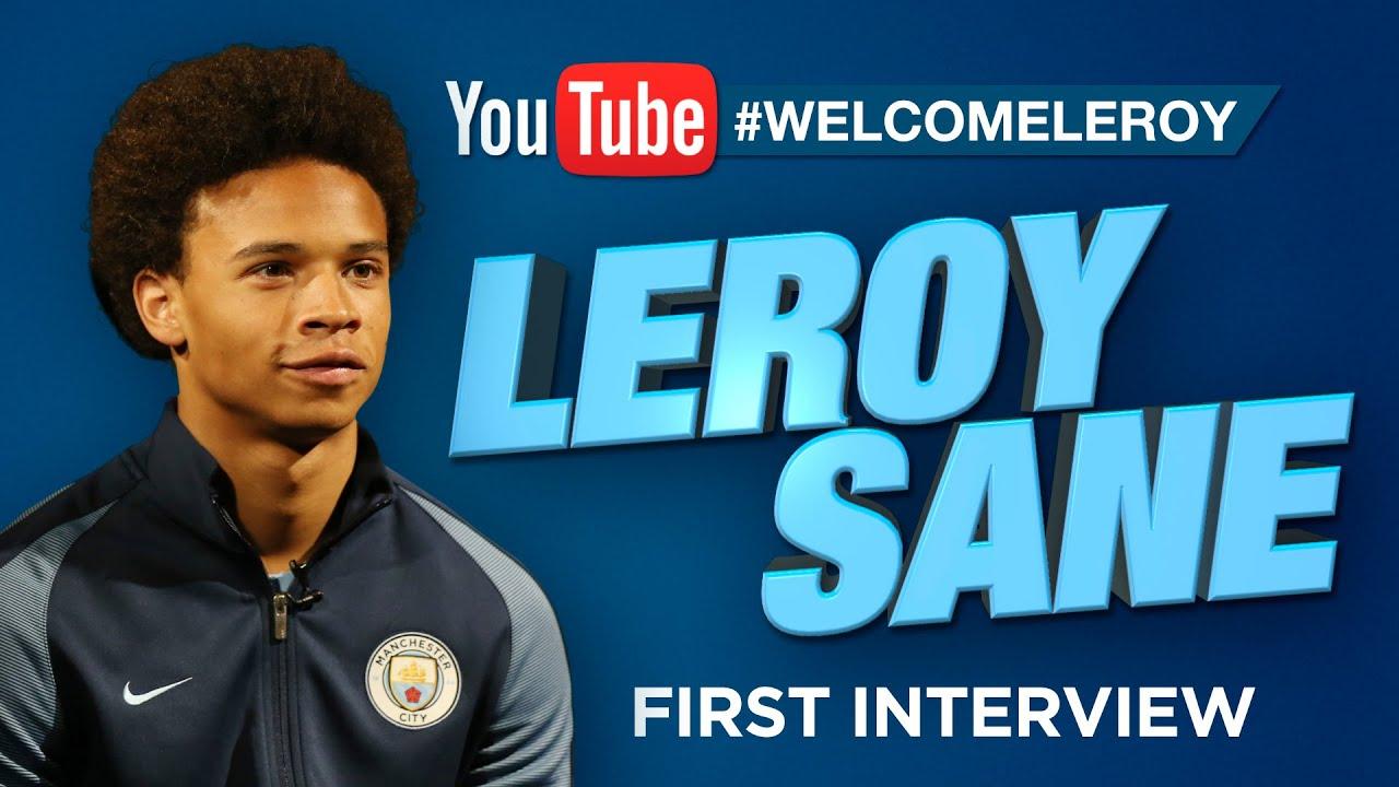 Leroy Sane Man City