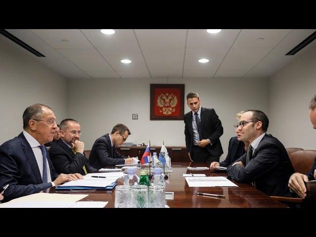 С.Лавров и Госсекретарь Сан-Марино по иностранным делам | Sergey Lavrov & San Marino FM
