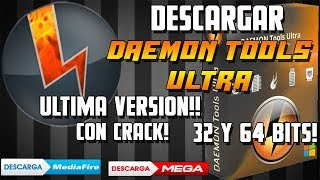 DESCARGAR DAEMON TOOLS ULTRA 2019!! - ULTIMA VERSION CON LICENCIA DE POR VIDA!!/32 Y 64 BITS/ESPAÑOL