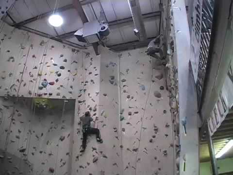 Reaching for the Summit at Wind Gap climbing gym