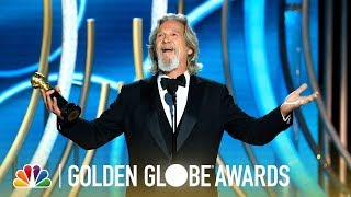 Jeff Bridges Receives the Cecil B. deMille Award - 2019 Golden Globes (Highlight)