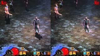 Diablo III Max-Min Graphics Comparison