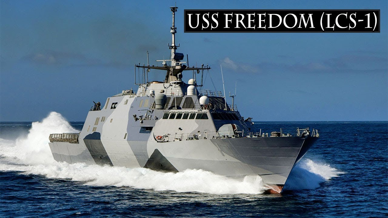 These uss freedom lcs 1 are the first littoral combat ship of u s navy youtube - Uss freedom lcs 1 photos ...