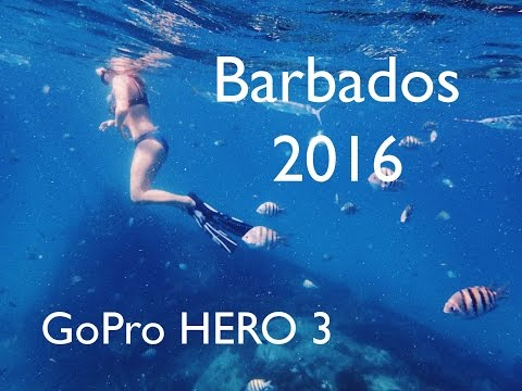 GoPro HERO 3 | BARBADOS | 2016 | TRAVEL