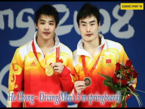 China Gold Medal Winners in 2008 Olympic Games