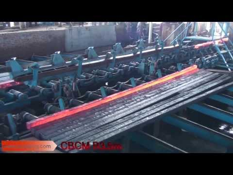 ISC Machines, Concast, CCM, Continuous Casting Machine