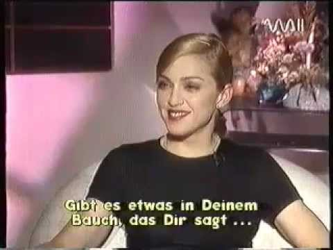 Madonna - Rare Interview with Heike Makatsch - PART 3