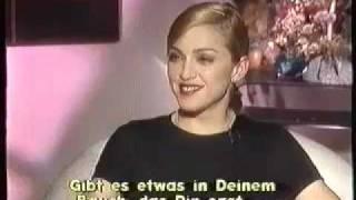 Madonna - Rare Interview with Heike Makatsch - PART 3