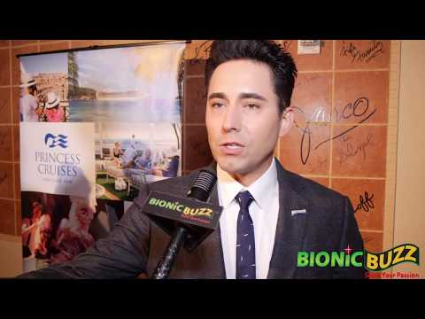 John Lloyd Young  at LA's Next Great Stage Star Finale
